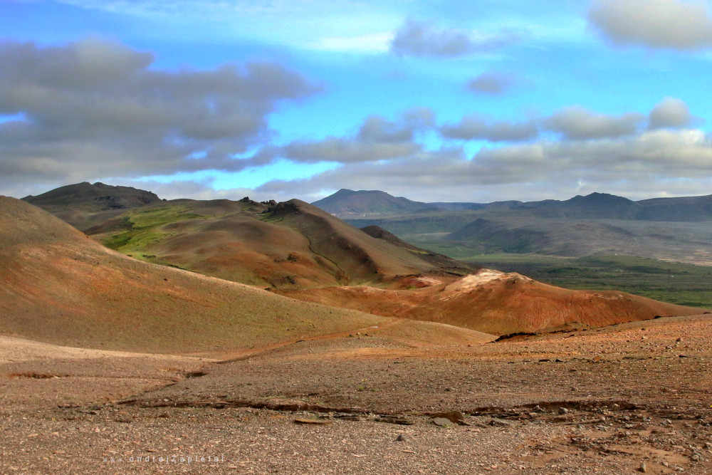 Fotografie Colorful Hills, na fotce: mountains, geology, nature, autor: Ondřej Zapletal